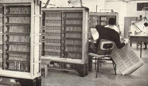 Vecchio Computer degli anni '50