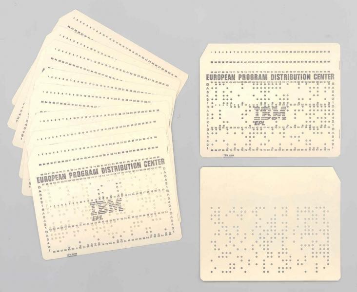 Scheda perforata IBM 96 colonne